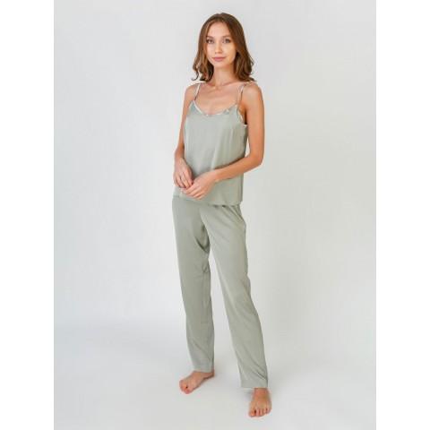 Пижама софт оливковая Serenade